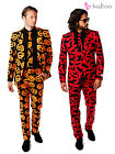 OppoSuit Batman Pumpkin Oppo Suit Mens Halloween Stag Do Fancy Dress Outfit