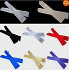 Chic Vogue Womens Evening Party Bridal Wedding Satin Arm Hand Sleeve Long Gloves