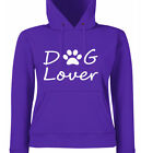 Dog Lover Ladies Fit Hoodies, Ladies Hoodies,  5 colours in Sizes 8 - 18