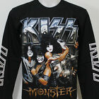 KISS Monster Gene Paul Long Sleeve T-Shirt 100% Cotton New Size S M L XL 2XL 3XL