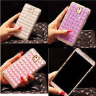 Luxury Bling Crystal Diamonds Clear Hard Case Cover For Samsung Mobile Phone CHZ