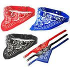 Adjustable Pet Dog Puppy Cat Collar with Bandana Neck Scarf Large or Small