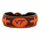 leather football bracelet NCAA PICK YOUR TEAM gamewear team color