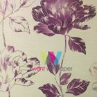 NEW A.S. CREATION PURE FLORAL LEAF FLOWER MOTIF TEXTURED CLASSIC AS WALLPAPER