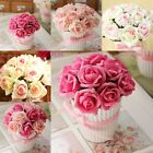 Wedding Party Home Decor Rose Artificial Fake Flower Bonsai Silk Flower New