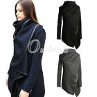 Lady Slim Wool Blend Winter Warm Long Coat Jacket Trench Windbreaker Hot Sell
