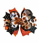 Jack-O-Lantern Boutique Hair Bow