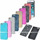 1pc Ultra Thin Slim Luxury Magic Pattern Metal Hard Case Cover Skin For iPhone 6