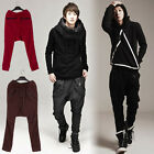 Hot Mens Trousers Harem Hip-hop Loose In Vogue Pants For Men Clothing  Black