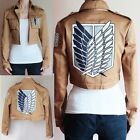 Attack on Titan Scouting Legion Shingeki no Kyojin Allen Yeager Cosplay Jacket
