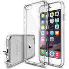 For iPhone 6/6 Plus, New Ultra Thin 0.5mm Premium Clear Soft Case Dustproof Plug