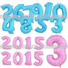 "Colorful Large 40"" Number 0 to 9 Foil Giant Birthday Wedding Party Balloon Decor"