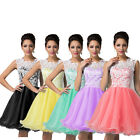 STOCK Masquerade Wedding Bridesmaid Homecoming Party Evening Short Prom Dresses