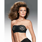 Maidenform Dream Lace Strapless Wirefree Contour Cup Bandeau Bra 40902 Black