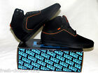 Vans Off The Wall Shoes New LXVI Skateboard Mens Black Stat Size 11