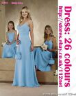 Long Bridesmaid dress flolwer girl evening dress prom party dress ball dress