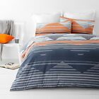Chevron Zig Zag Orange  Quilt / Doona Cover Set All Sizes NEW 30 - 40% off RRP