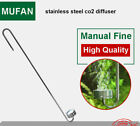 Aquarium Ultra-thin stainless steel co2 diffuser 25cm 30cm 35cm 40cm to select