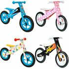Childrens Wooden Balance Bike Boys Girls Kids Running Training Bikes New Boppi