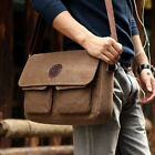 Strong Larger Luxury Canvas Hiking Travel Military Backpack Messenger Bag Fine