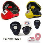FAIRTEX ULTIMATE CONTOURED FOCUS MITTS FMV9 PUNCHING TRAINING MUAY THAI BOXING