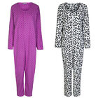 Marks & Spencer Womens Soft Fleece Onesie All In One Pyjamas M&S PJs Sleepsuit