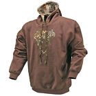 Kings Desert Shadow camo hunting brown Applique Hoodie mens hunting