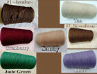 *FREE SHIPPING* Soft Top Quality 3/2 Cotton Cone Yarns Knit Crochet Weaving