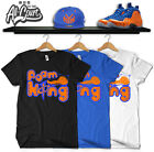 "Foam King ""New York Knicks"" Foamposite T Shirt on eBay"