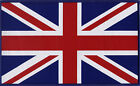 Union Jack UK British Flag Woven Badge Back Patch Large 248mm x 150mm