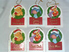 Disney Winnie Tigger Eeyore Christmas Tree Hanging Decoration Bauble Xmas Plaque