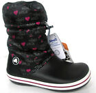 LADIES CROCS CROCBAND HELLO KITTY WINTER TOGGLE LACE BLACK COLOUR BOOT