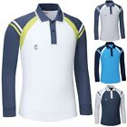 Mens Womens Dryfit Quick Dry Coolmax Golf Tennis Collar Polo Tshirts Top TM8059