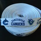 "7/8"" Vancouver Canucks Grosgrain Ribbon by the Yard (USA SELLER!) $4.85 USD on eBay"