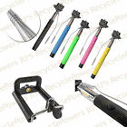 Selfie Stick Handheld Monopod Holder 3.5mm wire Shutter button Control For Phone