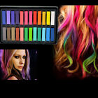 12 / 24 Color Non-toxic Temporary Salon Kit Pastel Square Hair Chalk With Box Hot