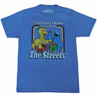 Sesame Street Everything I Know Adult T-Shirt image