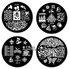 Trendy Design JQ Series Nail Art Image Stamp Stamping Plates Manicure Template