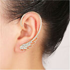 New Women Angel wing Ear Cuff Fashion Stud Earrings for Pierced Ear Left Side