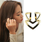New Brand Punk V Shape Finger Ring Adjustable Fashion Ring