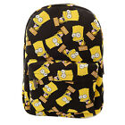 Casual Women Canvas Cartoon Backpack Preppy Style Boys Girls Shoulder School Bag