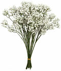 47cm White Gypsophelia Babys Breath Posy. Artificial Flowers 6 or 12 stems