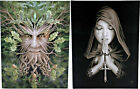 Anne Stokes Collection - Wall Plaque/Canvas Print - Fantasy~Gothic~Green Man