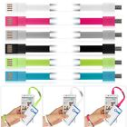 Bracelet Micro USB Charger Charging Sync Data Cable Cord fr Android Smart Phones