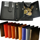 Wallet With Secret Compartment, Condom Large Coin Chip Compartment Fine Leather