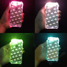 New LED Bling Sense Flash Up Light Clear Cover Case For iPhone 4 4S 5 5S 6 6Plus