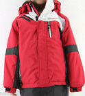 *NEW Weatherproof Boy's Snow Jacket Coat Black Red 2T