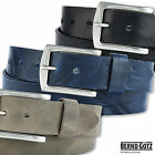 BERND GÖTZ Cowhide belt 4 cm wide naturally tanned can be shortened