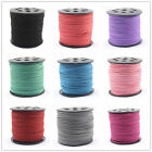 3x 1.5mm Wholesale Faux Suede Cord Leather Lace Jewelry Findings Beading Thread