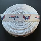 "7/8"" Washington Capitals White Grosgrain Ribbon by the Yard (USA SELLER!) $6.49 USD on eBay"
